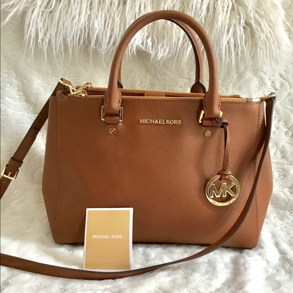 2111460f459e Michael Kors Bags | Sutton Medium Satchel Crossbody Bag | Poshmark